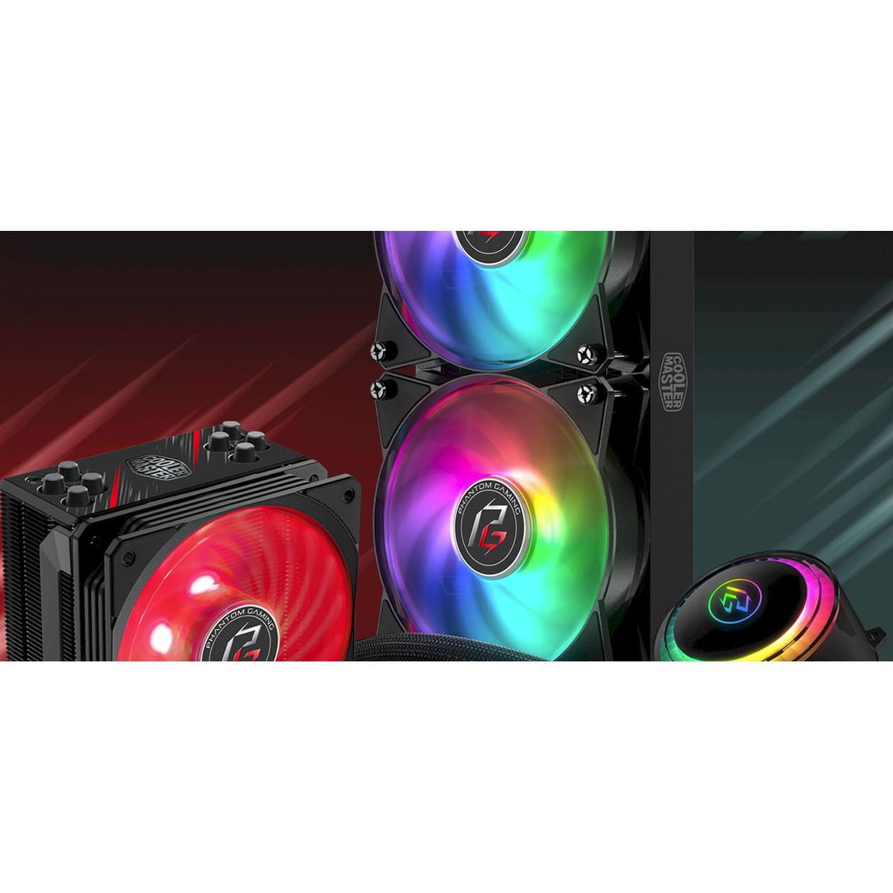 Cooler Master 240mm RGB Liquid Cooler
